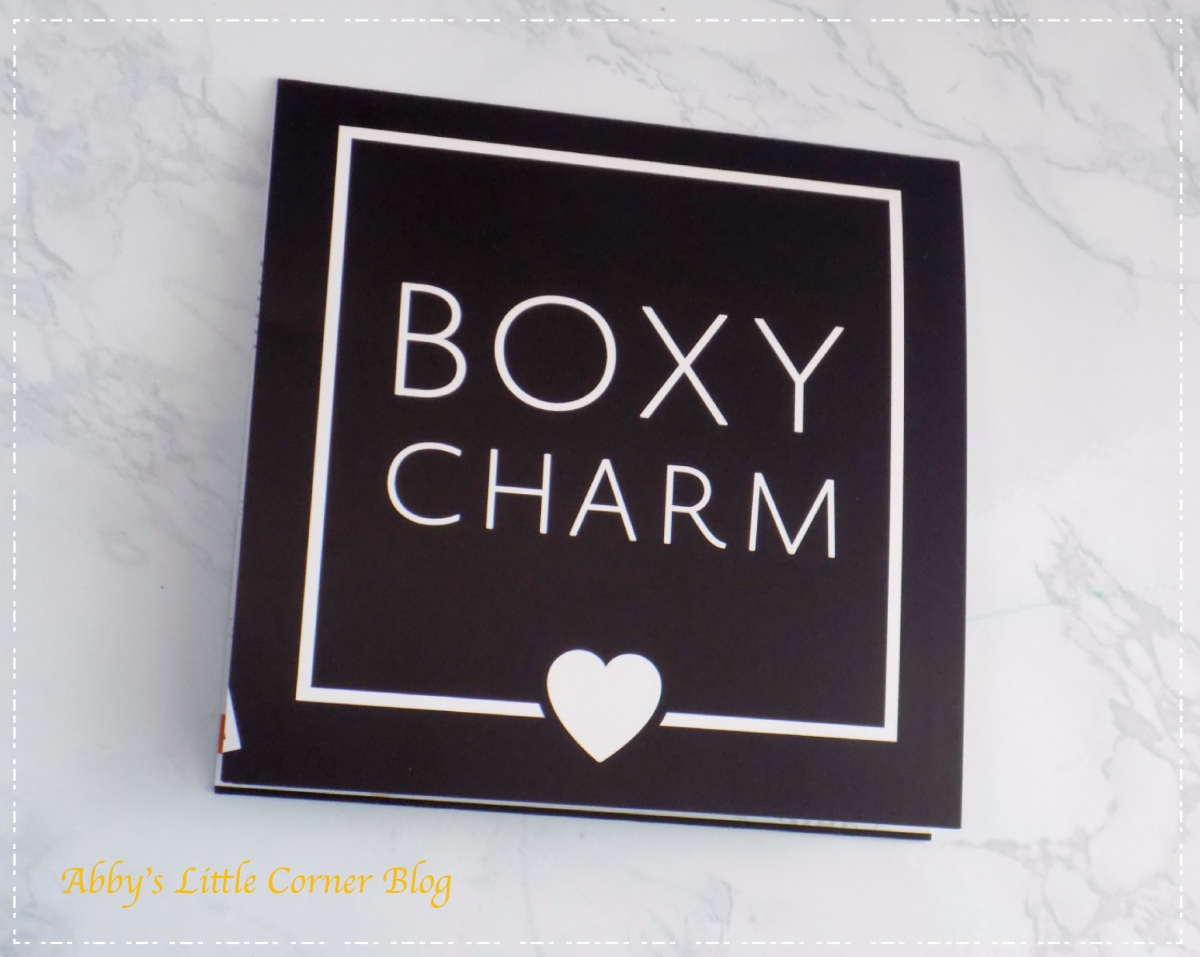 BoxyCharm August 2018 spoiler #4